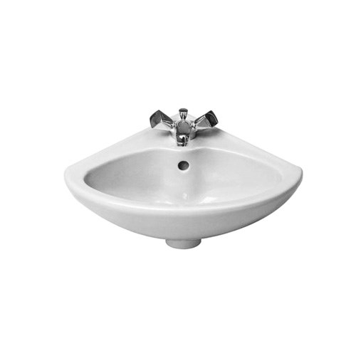 Corner washbasin 44*38cm