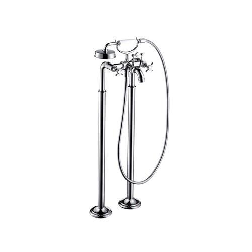 2-handle bath mixer floor-standing