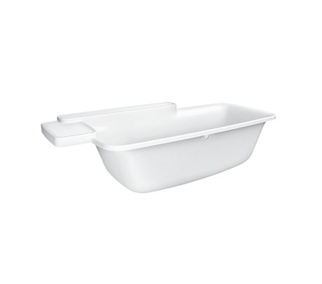 Built-in bath tub 195cm