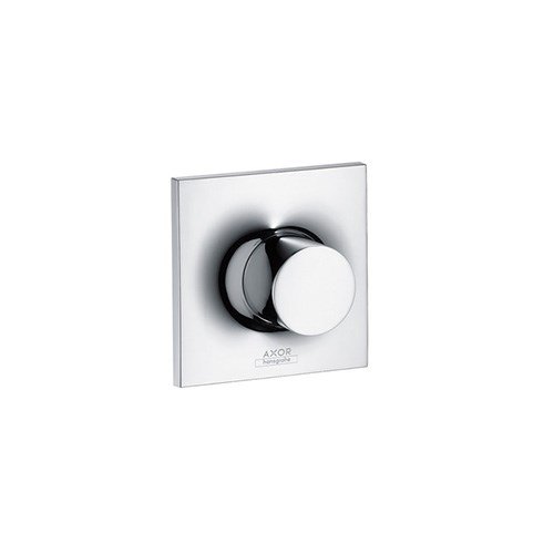 Shut-off valve for concealed installation