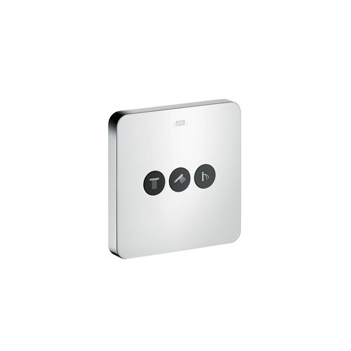 Axor ShowerSelect Soft valve for concealed installation for 3 outlets