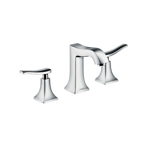 3-hole basin mixer with pop-up waste set