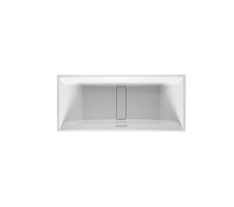 Rectangle bathtub built in, with special waste and overflow 180*80cm