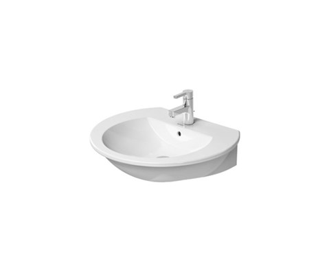 Washbasin wall mounted 65*55cm