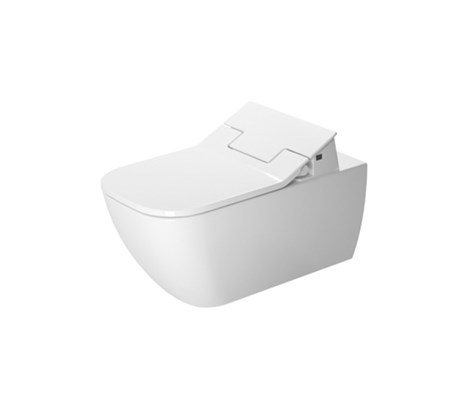 Toilet wall mounted only in combination with sensowash 62*36.5cm durafix included