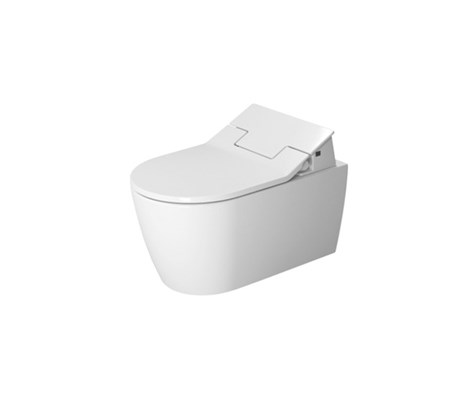 Toilet wall mounted, durafix included, only in combination with sensowash 57*37cm