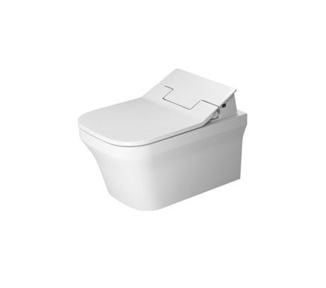 Toilet wall mounted rimless, only in combination with sensowash 57*38cm