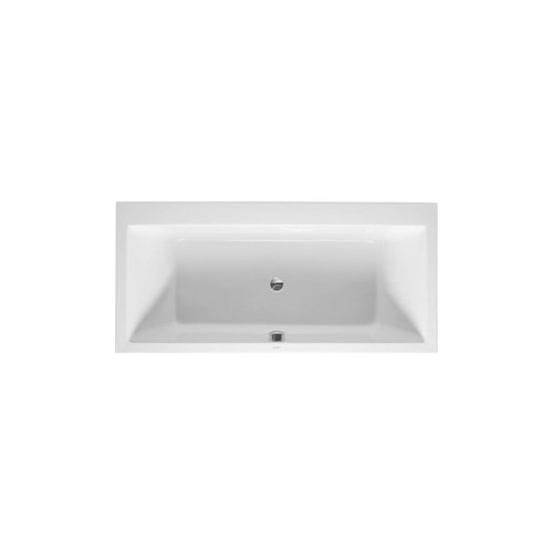 Bathtub for panel, with two backrest slopes, 5 mm sanitary acrylic 190*90cm